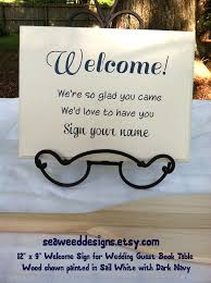 baby shower welcome sign welcome sign your name wedding guest book sign in table 12x9 b b