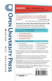Nurses Test Yourself In Non Medical Prescribing Amazon Co Uk