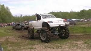 ford mudding trucks mega ford mud truck takes on mud pits at wallington