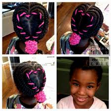 collections of hairstyles for 10 year old black girls cute