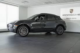 Porsche Macan Grey - 2017 porsche macan 4 cyl for sale in colorado springs co 17068