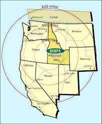 Map Of Boise Idaho The Facts Nampa Id Official Website