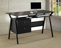 Metal And Glass Computer Desk Metal And Glass Computer Desks Glass Office Desk Ideas Using