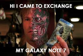 Galaxy Note Meme - 10 of the funniest reactions to the exploding samsung note 7