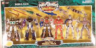 action toys collectables power rangers wild force primal pack
