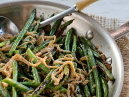 green bean thanksgiving recipes spicy green bean and enoki mushroom stir fry with garlic and