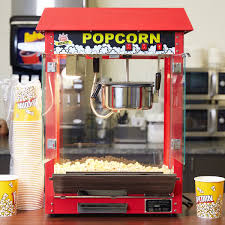 popcorn machine light bulb king pm30r royalty series 8 oz red commercial popcorn machine