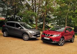 nissan ford 2015 ford kuga 2 vs 2015 nissan qashqai 2 youtube