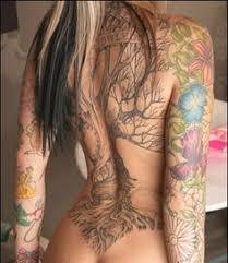 3d tree of leg modern photo for tattoos