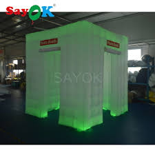 photo booth enclosure cheap portable led photo booth enclosure tent with two