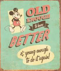 mickey mouse vintage birthday card vintage