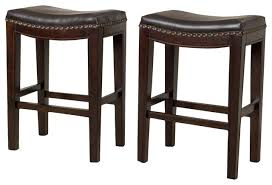 jaeden backless stools set of 2 transitional bar stools and