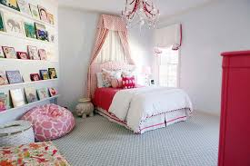Drapes With Matching Valances White And Blue Girls Bedroom With Blue Bamboo Nightstand
