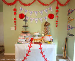 Birthday Home Decoration Baseball Decorations Archives Events To Celebrate