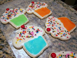 decorated sugar cookies plain chicken