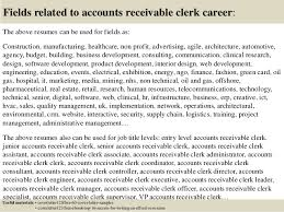 Accounts Payable And Receivable Resume Accounts Receivable Clerk Cover Letter Accounts Payable Clerk