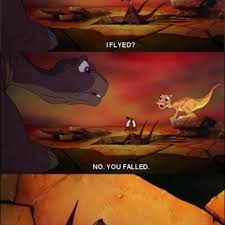 Land Before Time Meme - petrie has flyied and falled in the land before time