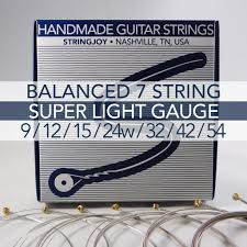 Medium Light Guitar Strings by Guitar Pusher