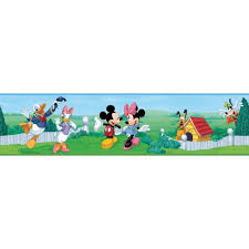Lego Wallpaper For Kids Room by Mickey Mouse Clubhouse Wall Border Wallpaper Room Decor Peel And