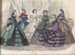 godey s fashions seamlines of 1860s fashions