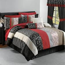 Red White And Black Bedroom - vikingwaterford com page 69 luxury wooded river cabin bedding