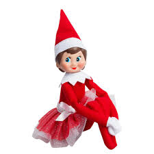 amazon com the elf on the shelf a christmas tradition blue eyed