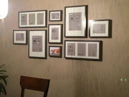 hanging picture frames ideas interior wall picture frames layout cool ideas hanging frame sets
