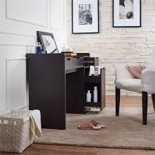 Flip Top Vanity Table Furniture Of America Carmona Flip Top Vanity In Espresso Ynj 1507c5