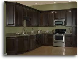 espresso stained cabinets home u003e kitchen cabinetry u003e quincy