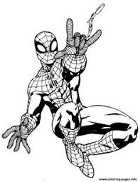 spider man coloring pages printable embroidery