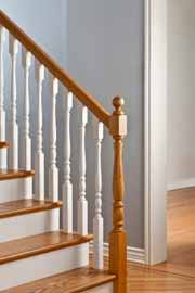 How To Paint Banister How To Paint Wood Stairs Preparing Timber Stairs For Painting