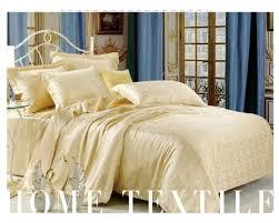 Bedding Set Bedding Set Silk Golden