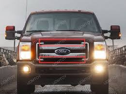 Single Row Led Light Bar by 2011 2016 Ford F 250 F 350 Super Duty High Power Led Light Bar