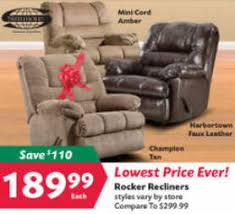 Simmons Harbortown Loveseat Black Friday Deal Simmons Harbortown Rocker Recliner
