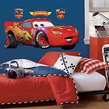 Lighting Mcqueen Bedroom Disney Cars Decor Ebay