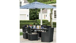 Blue And White Striped Patio Umbrella Innovative Design For Striped Patio Umbrella Ideas Black And White
