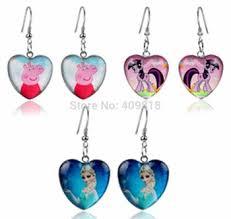my pony earrings buy my pony peppa pig frozen elsa earrings baby girl kids