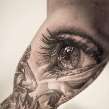 adorable black eye tattoo tattoomagz