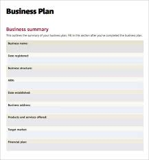 free business plan template pdf business plan template 10 free sles exles format