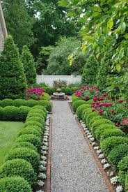 plastic garden edging ideas brick boxwoods galore in our courtyard outdoor ideas pinterest