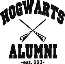hogwarts alumni decal hogwarts alumni decal laptop macbook mac pro air sticker apple