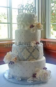 wedding cake ottawa 4 tiers wedding cake white silver plum ottawa wedding cakes
