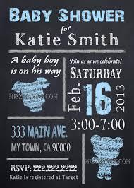 baby shower chalkboard chalkboard baby shower invites baby boy or baby mis2manos