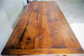 reclaimed oak table top custom wood tables handcrafted farmhouse dining tables