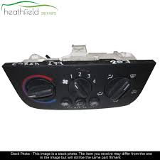 Vauxhall Corsa C Heater Control Panel With A C Black Cover Ebay