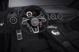 audi tt rs manual no manual gearbox for audi tt rs says report