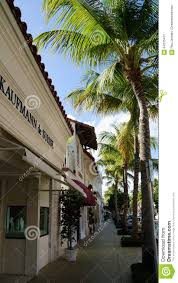 worth avenue in palm beach florida editorial photo image 64235431