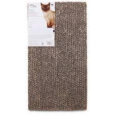 Modern Cat Scratching Post You U0026 Me Double Wide Cardboard Cat Scratcher Refills Petco