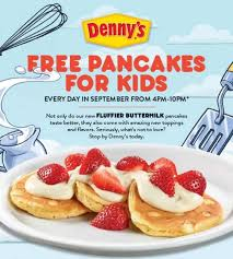 Get Free Pancakes At Participating Denny S Free Pancakes For The Simple Parent