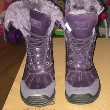 ugg australia s purple adirondack boots 64 ugg shoes s ugg adirondack ii boots from sha s